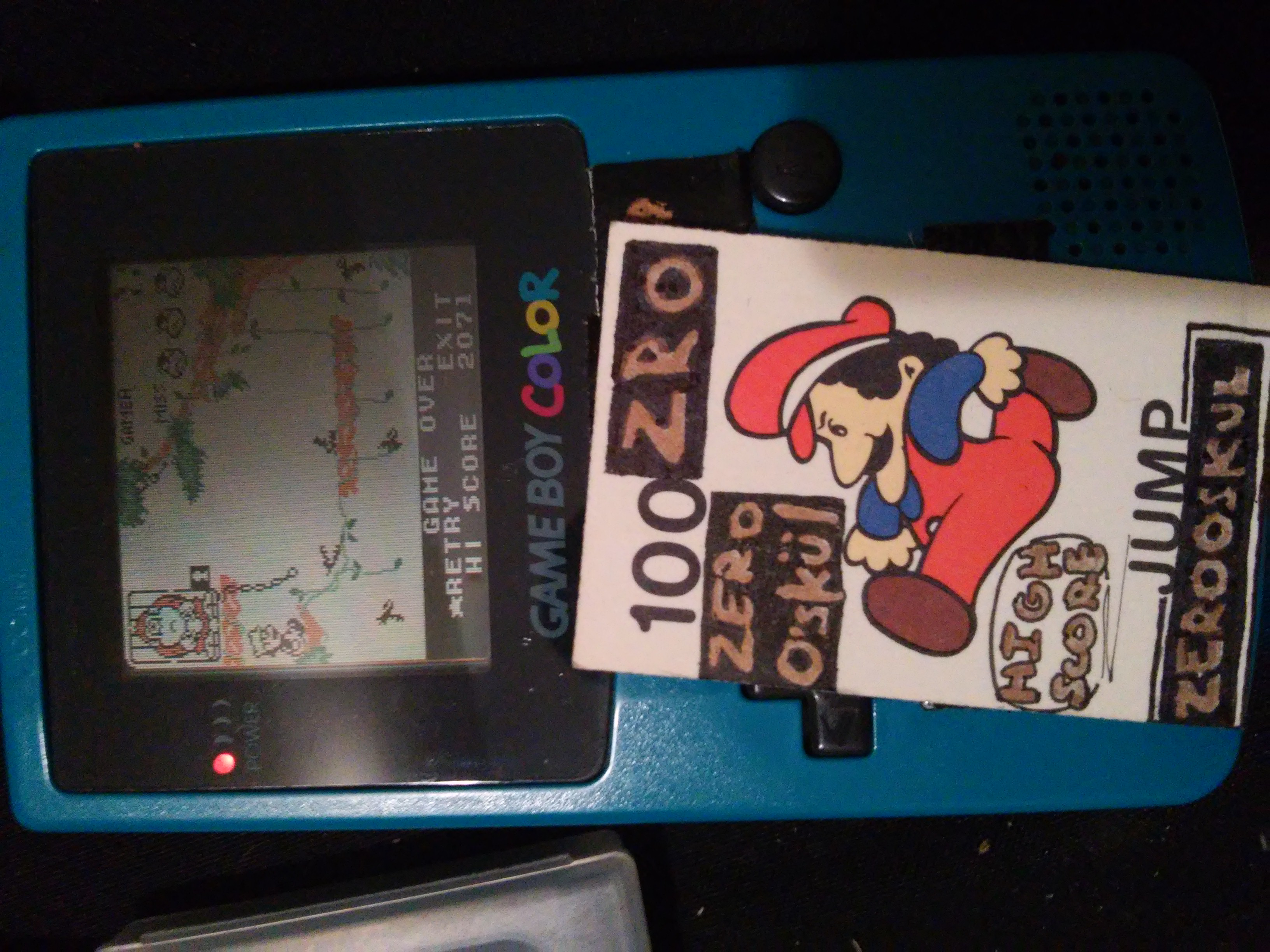 zerooskul: Game & Watch Gallery 3: Donkey Kong Jr: Classic: Easy (Game Boy Color) 2,071 points on 2018-12-22 03:23:38