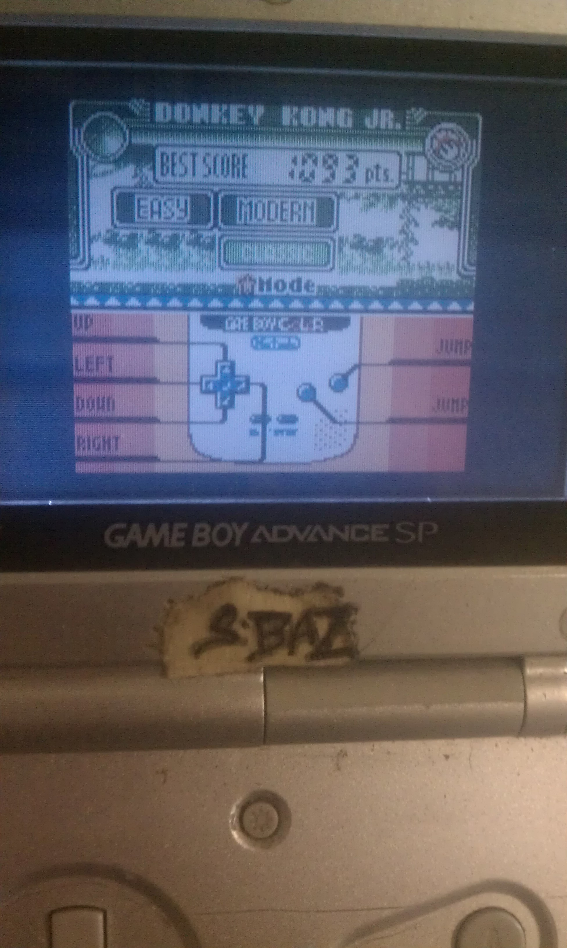 S.BAZ: Game & Watch Gallery 3: Donkey Kong Jr: Modern: Easy (Game Boy Color) 1,093 points on 2016-06-26 13:01:14