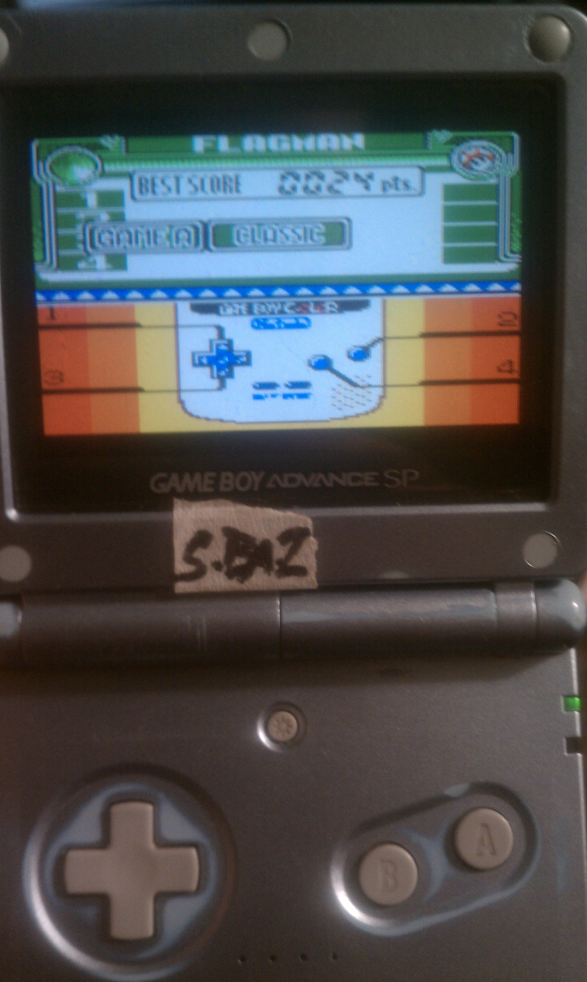 S.BAZ: Game & Watch Gallery 3: Flagman [Classic: Game A] (Game Boy Color) 24 points on 2018-08-24 15:06:43