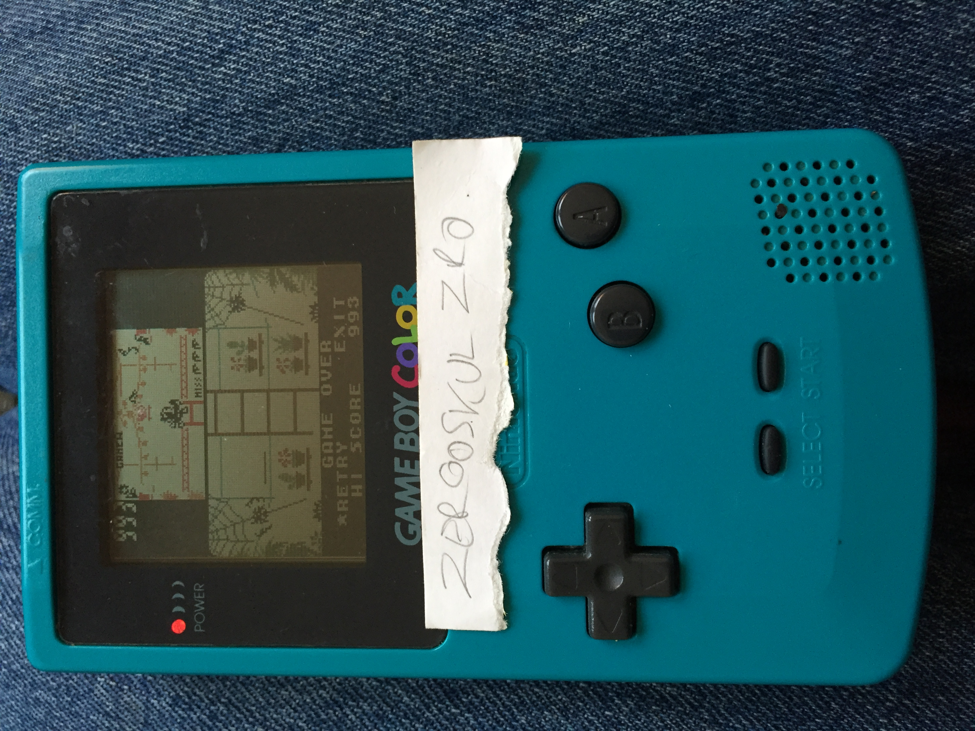 Game & Watch Gallery 3: Greenhouse: Classic: Easy 993 points