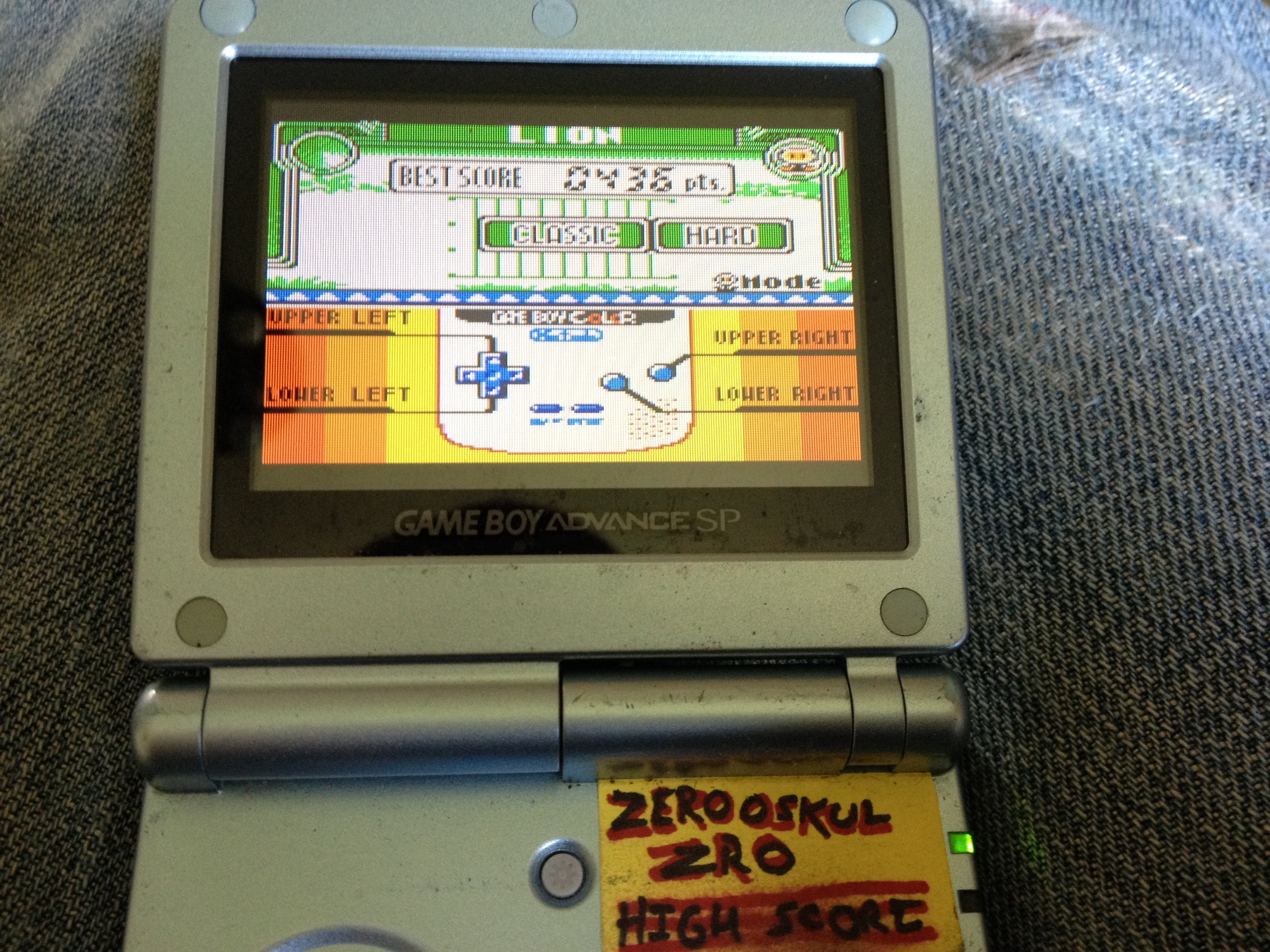 Game & Watch Gallery 3: Lion [Classic: Hard] 436 points