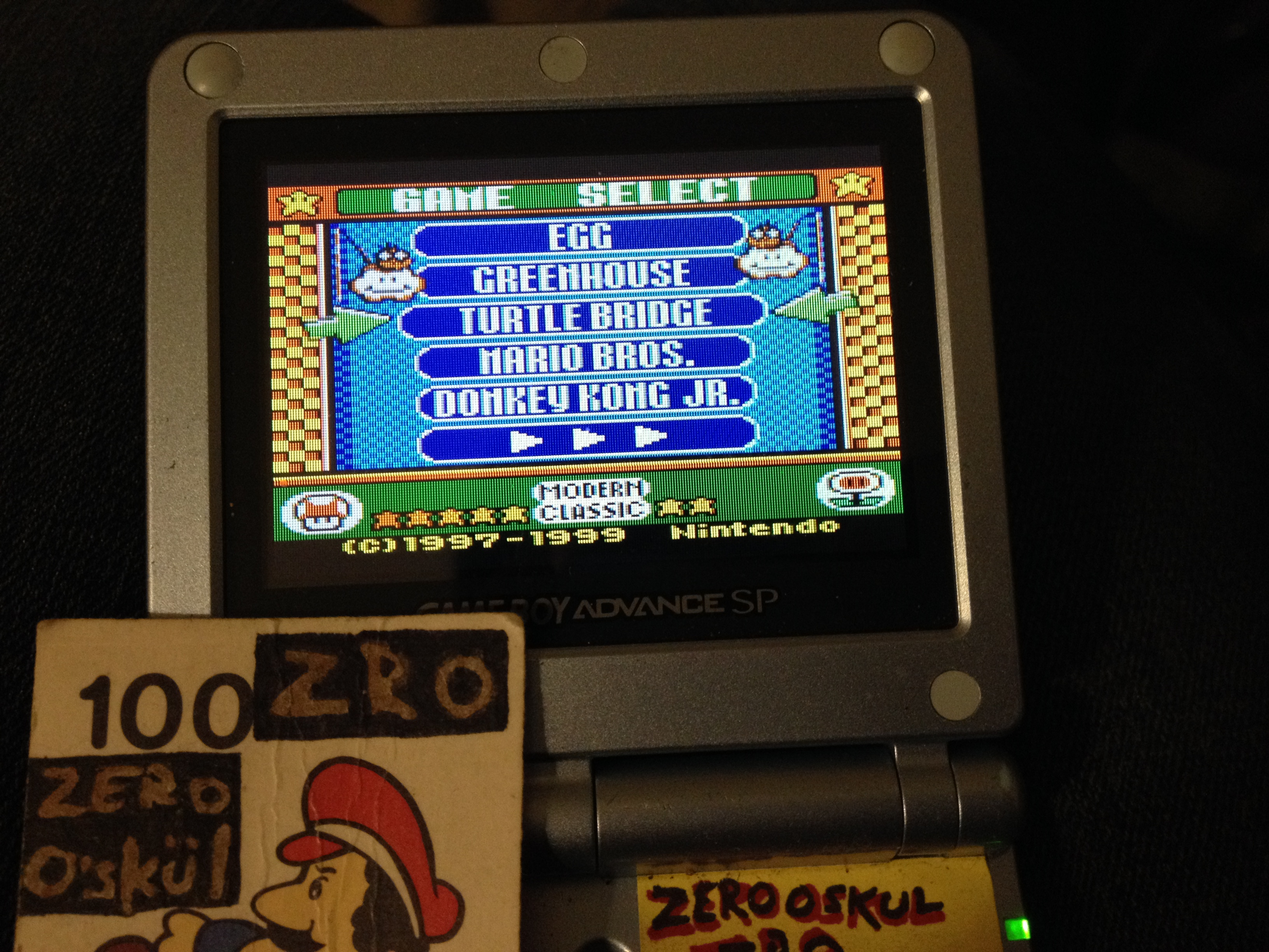 Game & Watch Gallery 3: Turtle Bridge: Classic: Easy 1,464 points