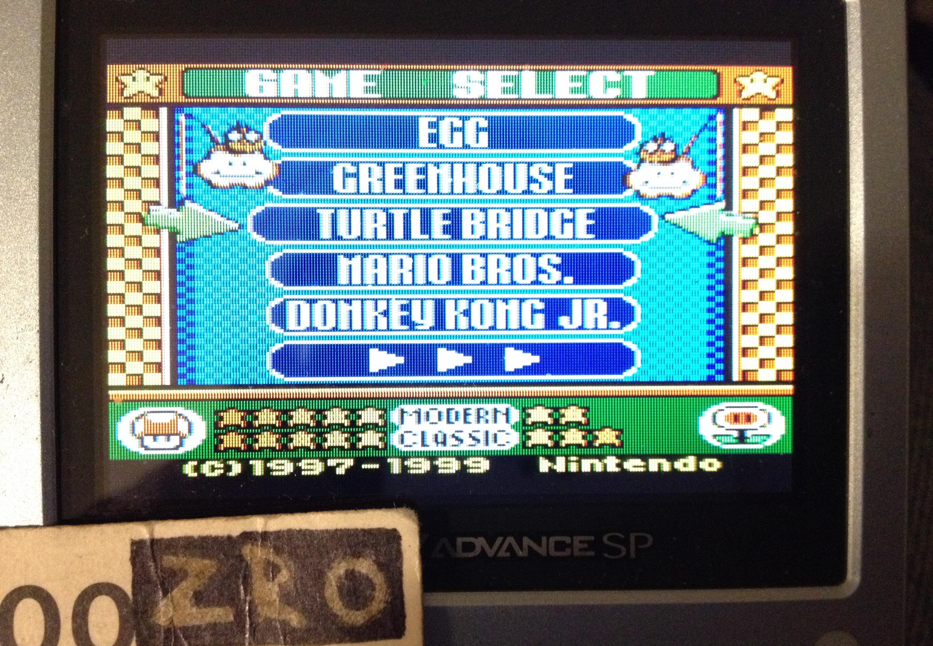 Game & Watch Gallery 3: Turtle Bridge: Classic: Easy 1,917 points