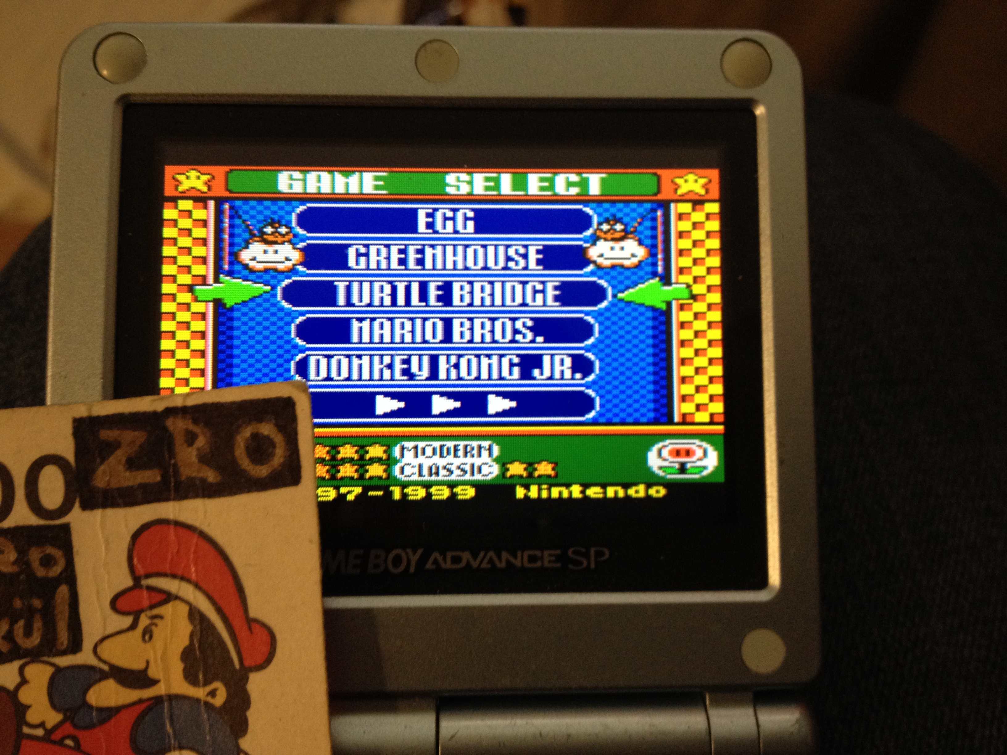 Game & Watch Gallery 3: Turtle Bridge: Modern: Easy 1,400 points