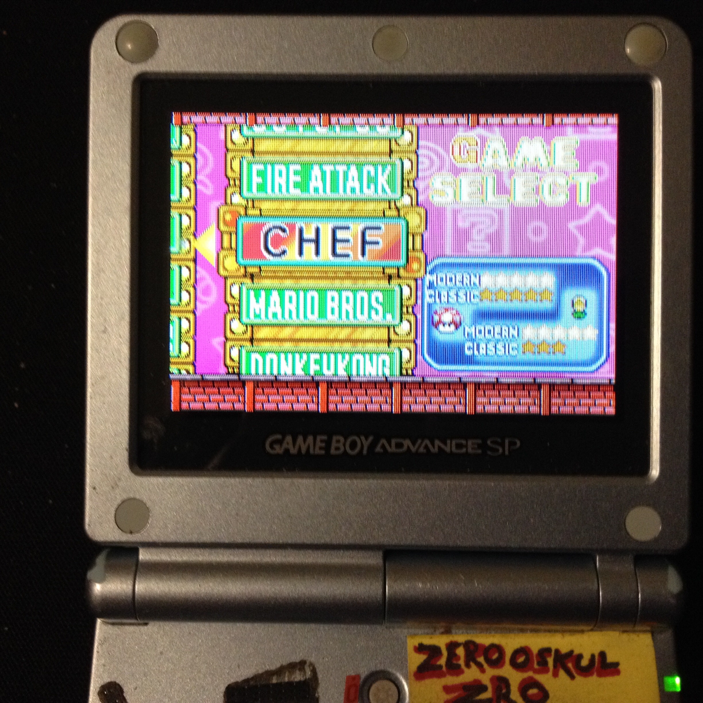 zerooskul: Game & Watch Gallery 4: Chef [Classic: Easy] (GBA) 2,846 points on 2019-12-29 03:39:06