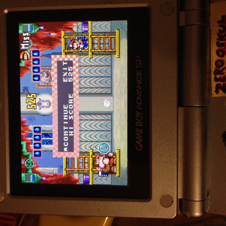 zerooskul: Game & Watch Gallery 4: Donkey Kong 3 [Modern: 1P] (GBA) 538 points on 2019-08-26 21:19:04
