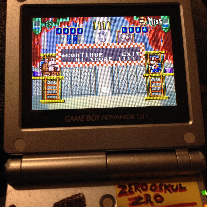 zerooskul: Game & Watch Gallery 4: Donkey Kong 3 [Modern: 1P] (GBA) 1,369 points on 2019-12-22 04:20:16