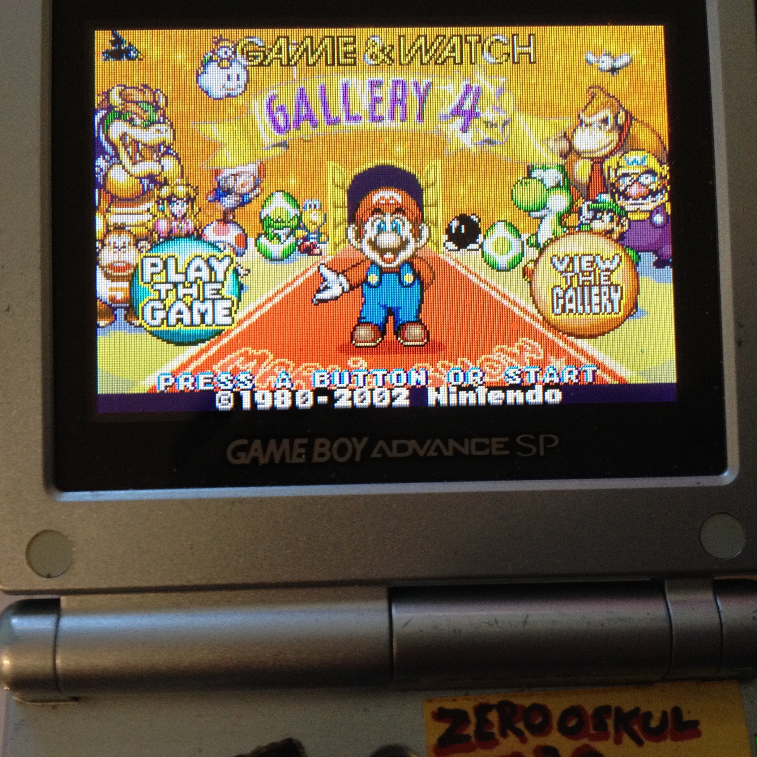 zerooskul: Game & Watch Gallery 4: Mario Bros [Modern: Easy] (GBA) 1,216 points on 2019-08-10 17:43:09