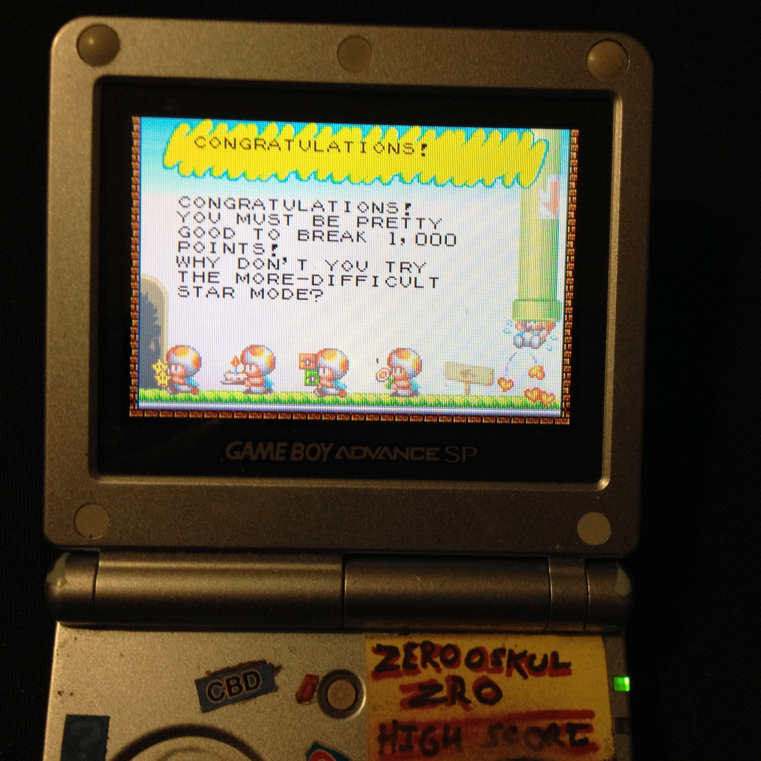 zerooskul: Game & Watch Gallery 4: Octopus [Modern: Easy] (GBA) 1,003 points on 2020-02-26 22:51:20