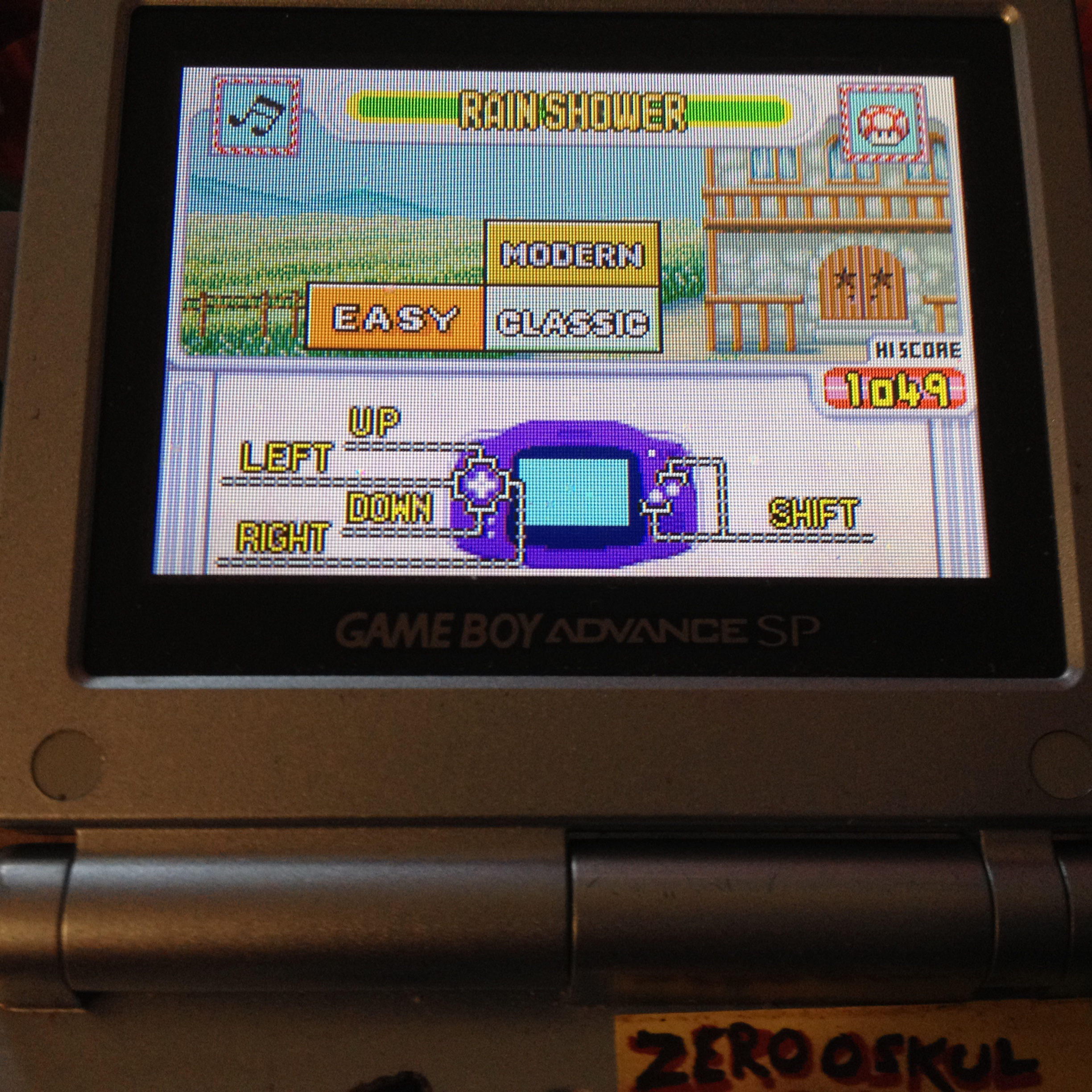 Game & Watch Gallery 4: Rain Shower [Classic: Easy] 1,049 points