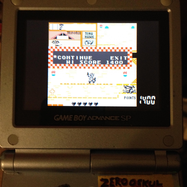 zerooskul: Game & Watch Gallery 4: Zelda (GBA) 6,180 points on 2019-08-23 01:02:57