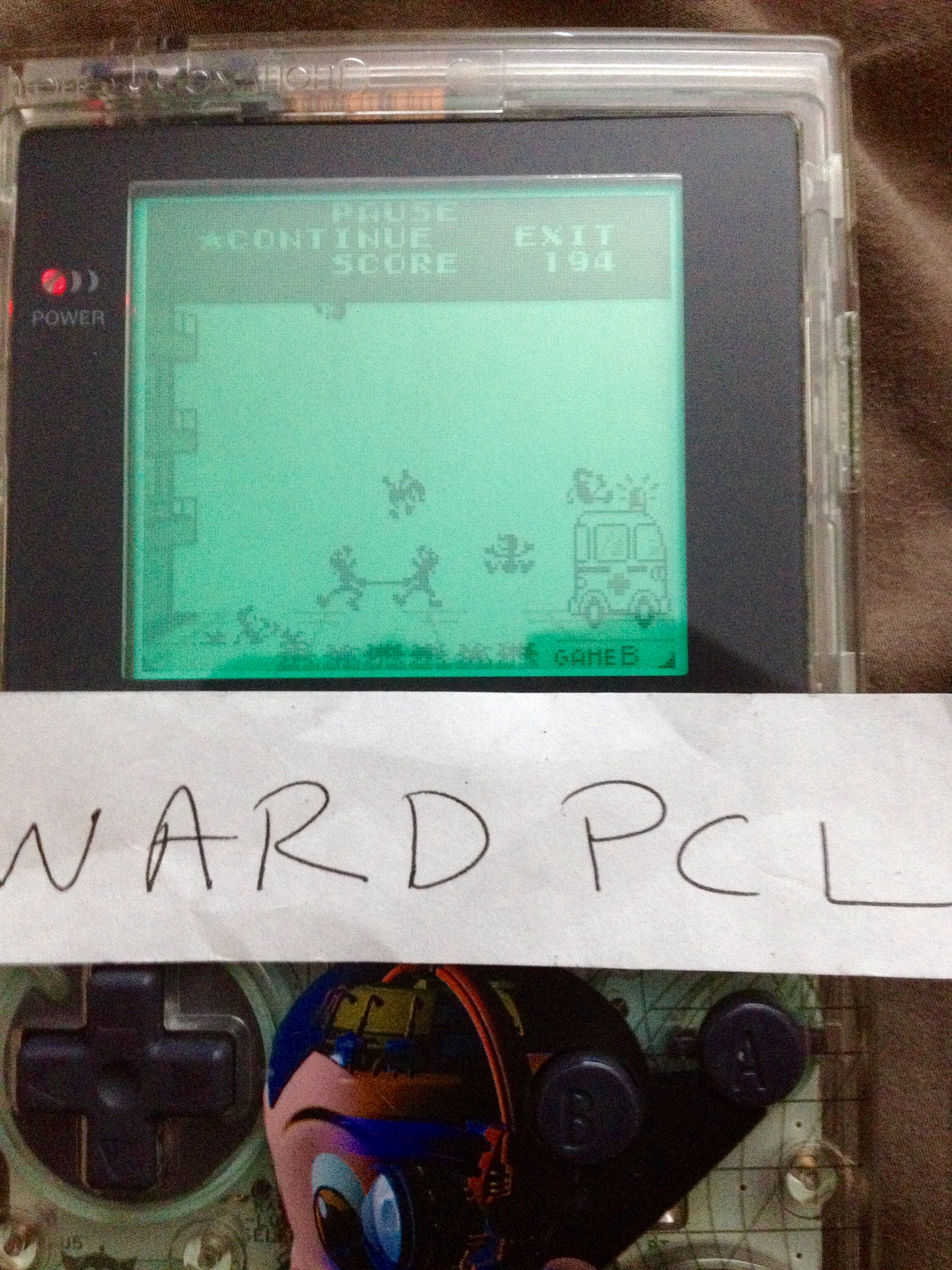 Wardpcl: Game & Watch Gallery: Fire [Classic: Hard] (Game Boy) 194 points on 2015-07-05 09:41:37