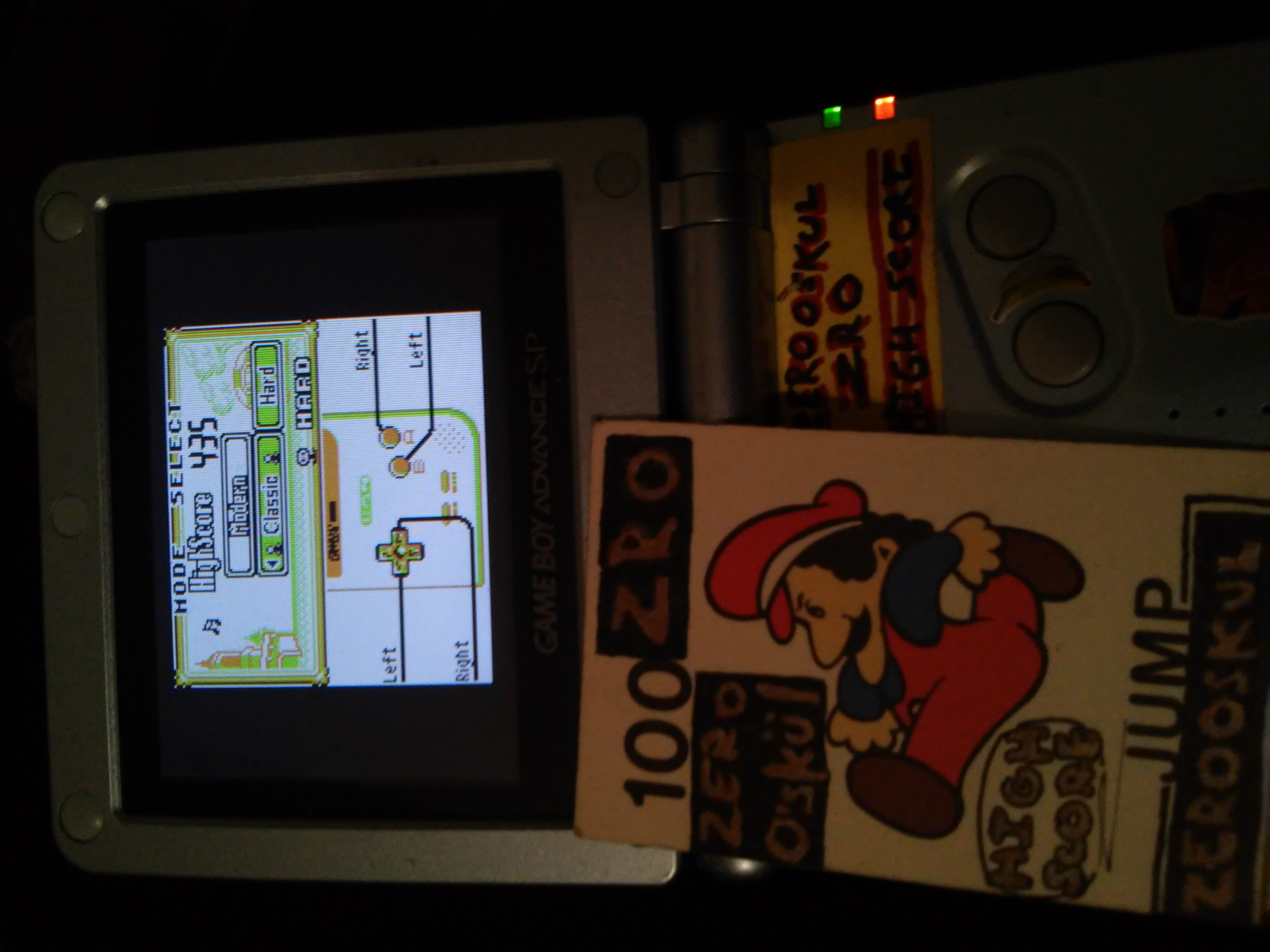 zerooskul: Game & Watch Gallery: Fire [Classic: Hard] (Game Boy) 435 points on 2019-01-26 00:38:13
