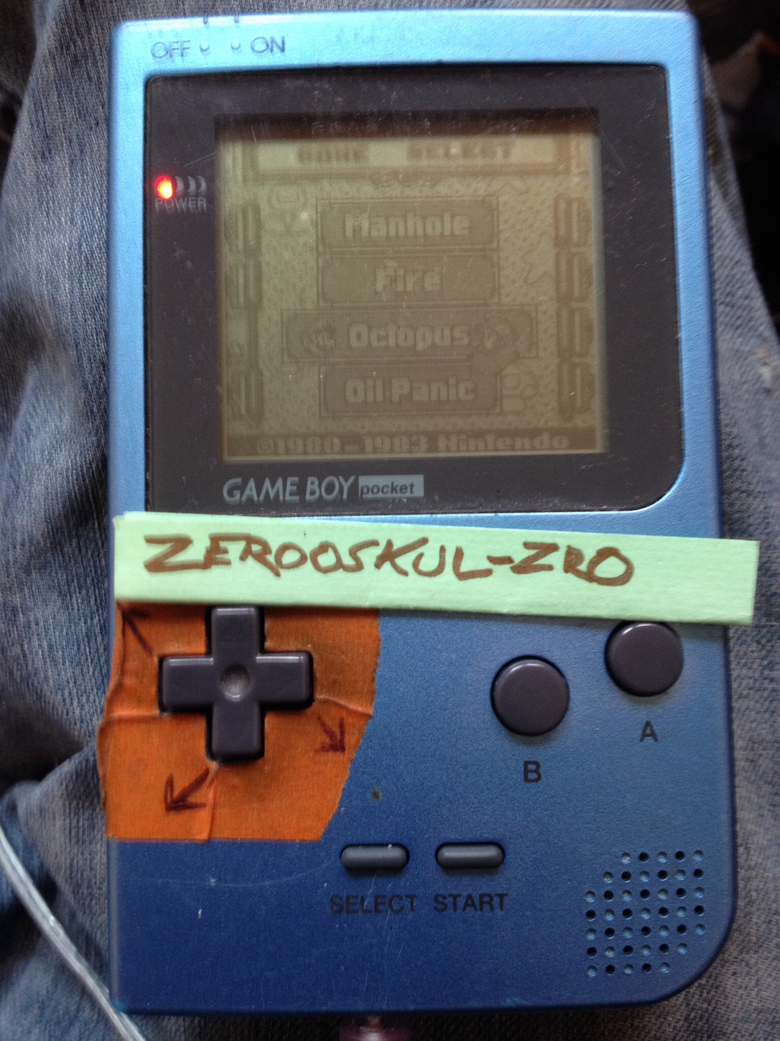 zerooskul: Game & Watch Gallery: Octopus [Classic: Easy] (Game Boy) 1,025 points on 2018-08-08 15:03:37
