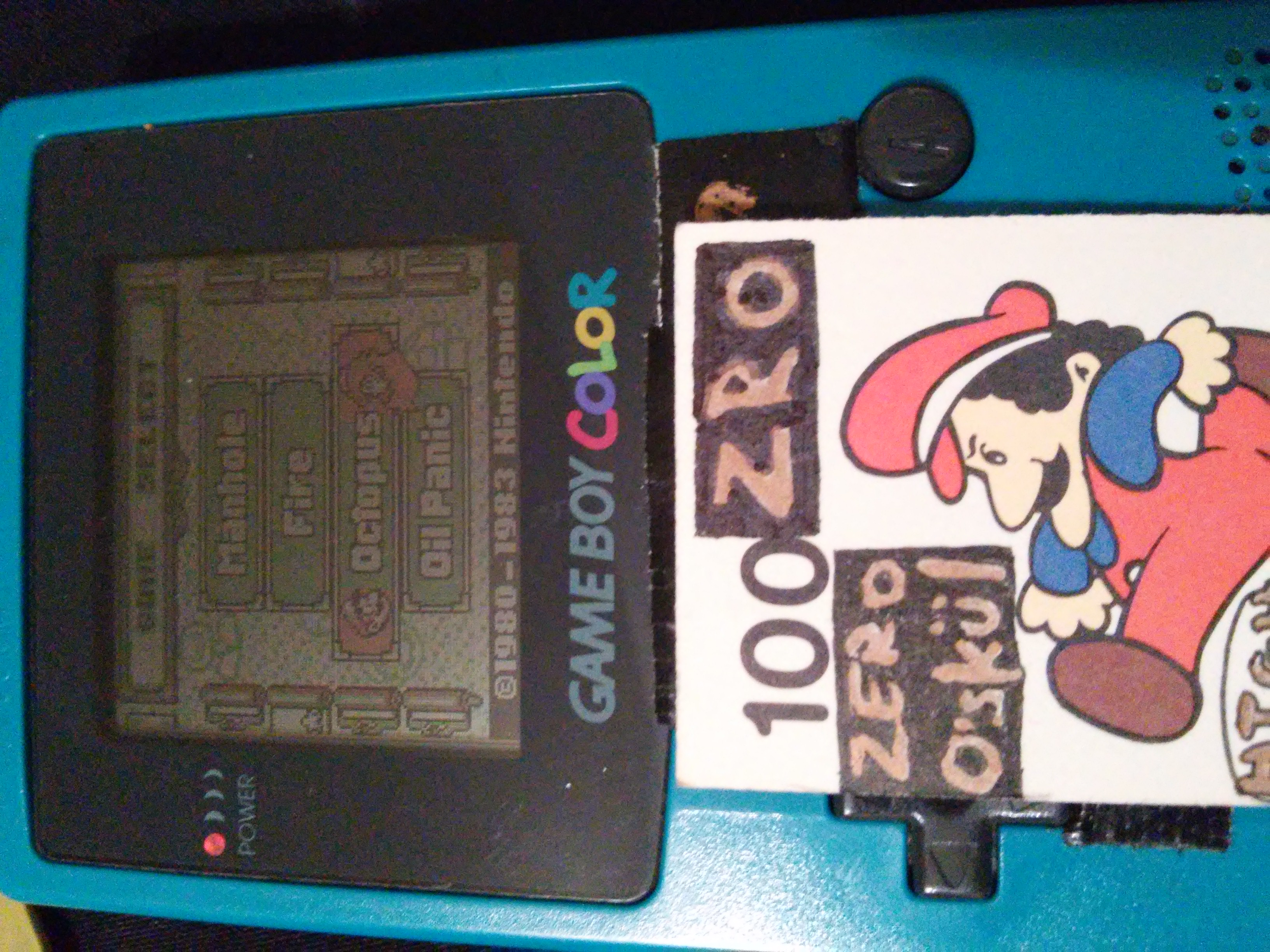 zerooskul: Game & Watch Gallery: Octopus [Classic: Hard] (Game Boy) 283 points on 2018-12-25 16:59:31