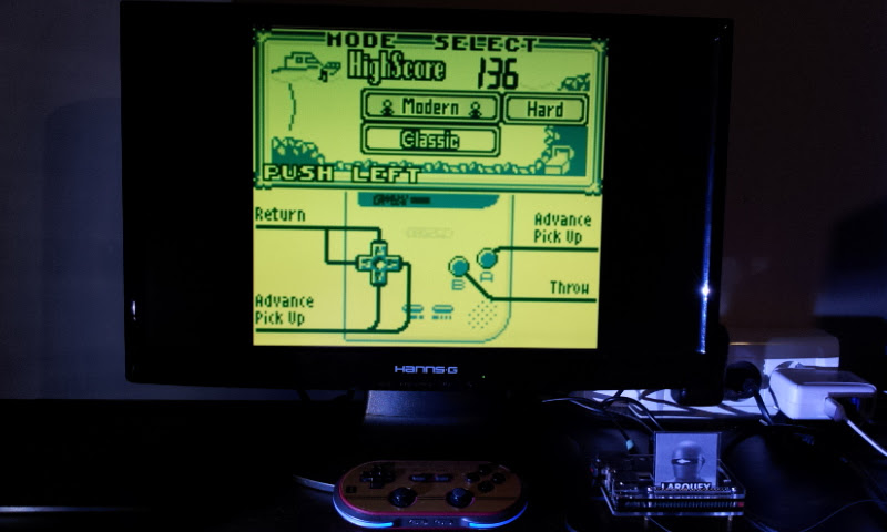 Larquey: Game & Watch Gallery: Octopus [Modern: Hard] (Game Boy Emulated) 136 points on 2017-08-08 15:58:05