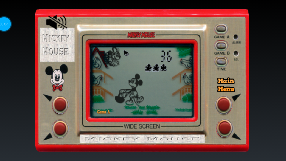 omargeddon: Game & Watch: Mickey Mouse [Game A] (Dedicated Handheld Emulated) 36 points on 2018-07-16 20:30:49