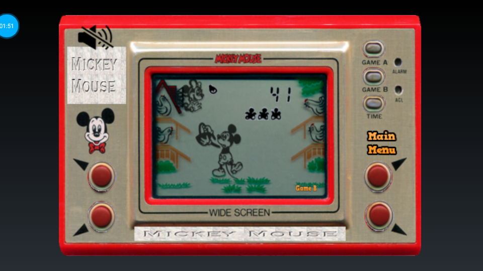 omargeddon: Game & Watch: Mickey Mouse [Game B] (Dedicated Handheld Emulated) 41 points on 2018-07-16 20:31:29