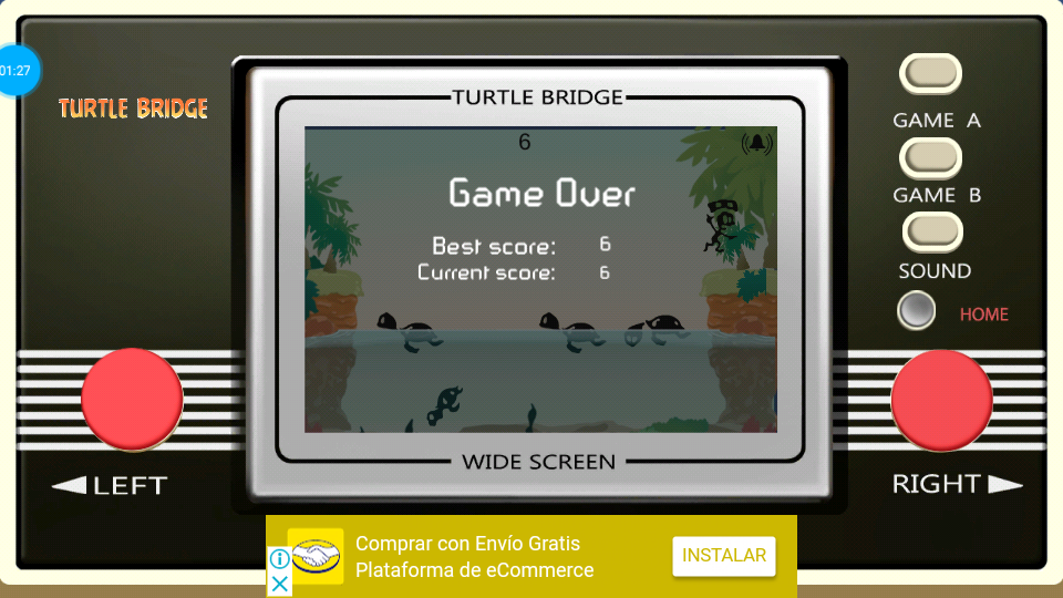 omargeddon: Game & Watch: Turtle Bridge [Game B] (Dedicated Handheld Emulated) 6 points on 2018-07-16 20:49:34