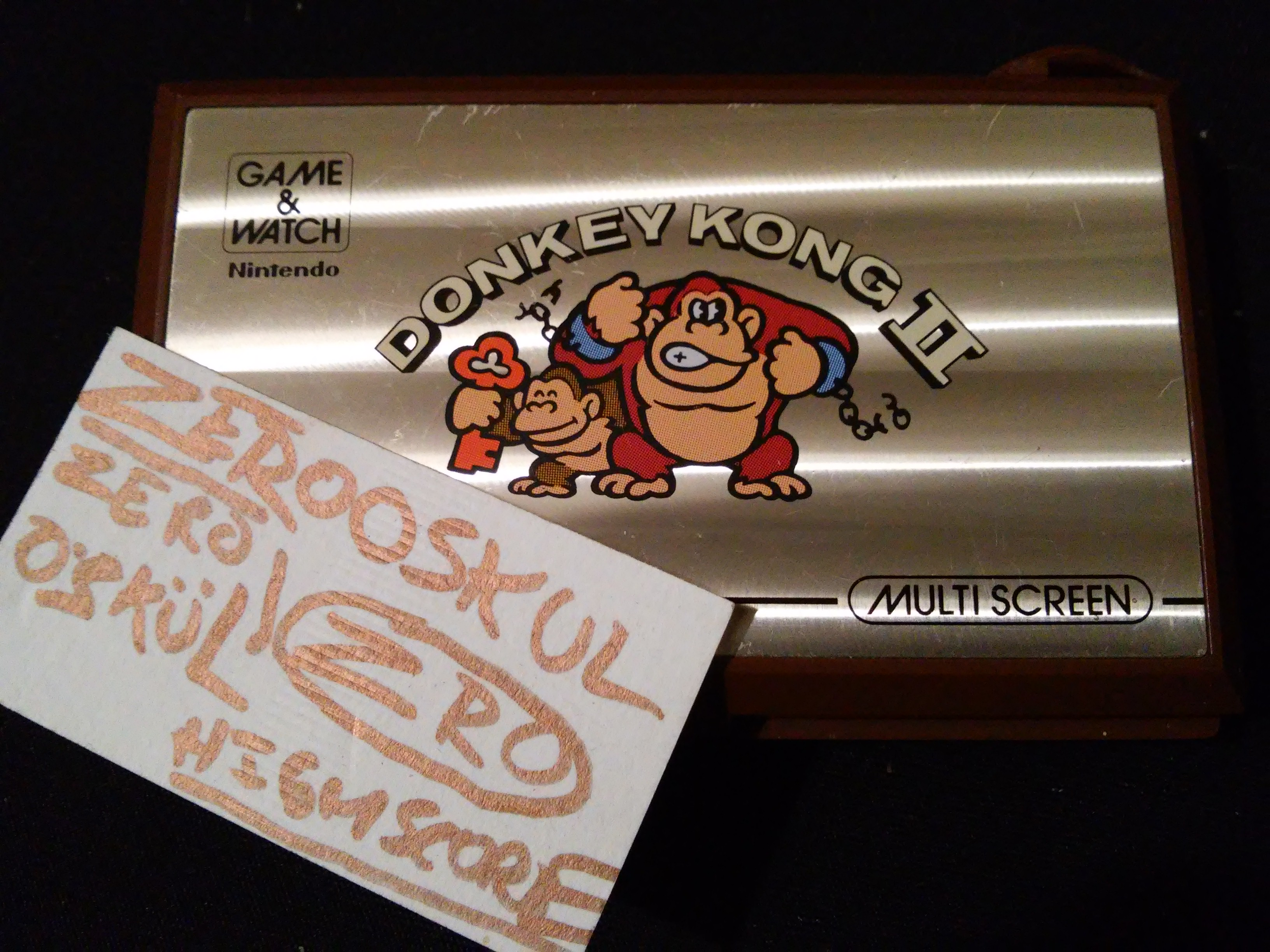Game and Watch: Donkey Kong II 671 points