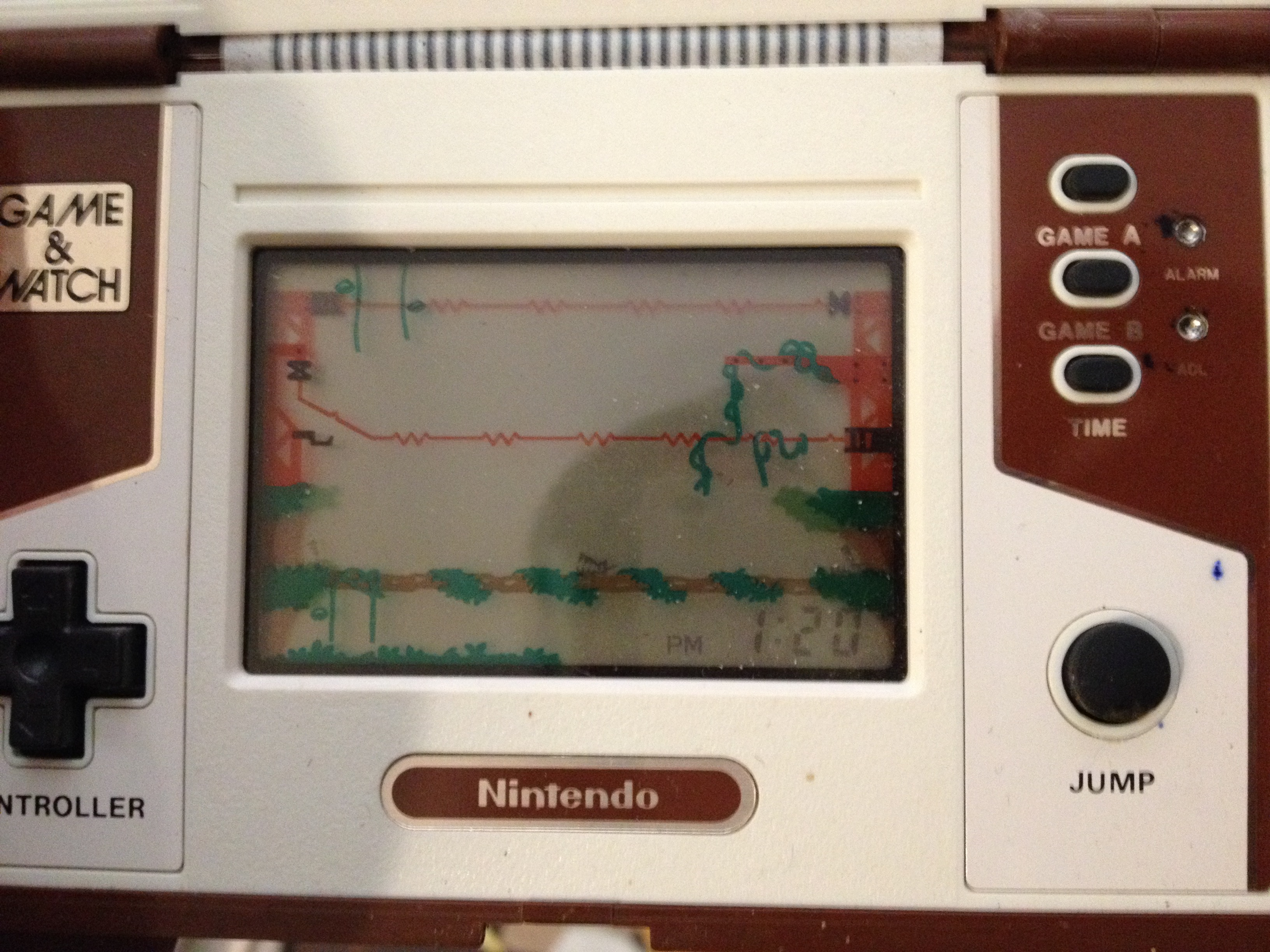zerooskul: Game and Watch: Donkey Kong II (Dedicated Handheld) 999 points on 2019-04-15 13:24:06
