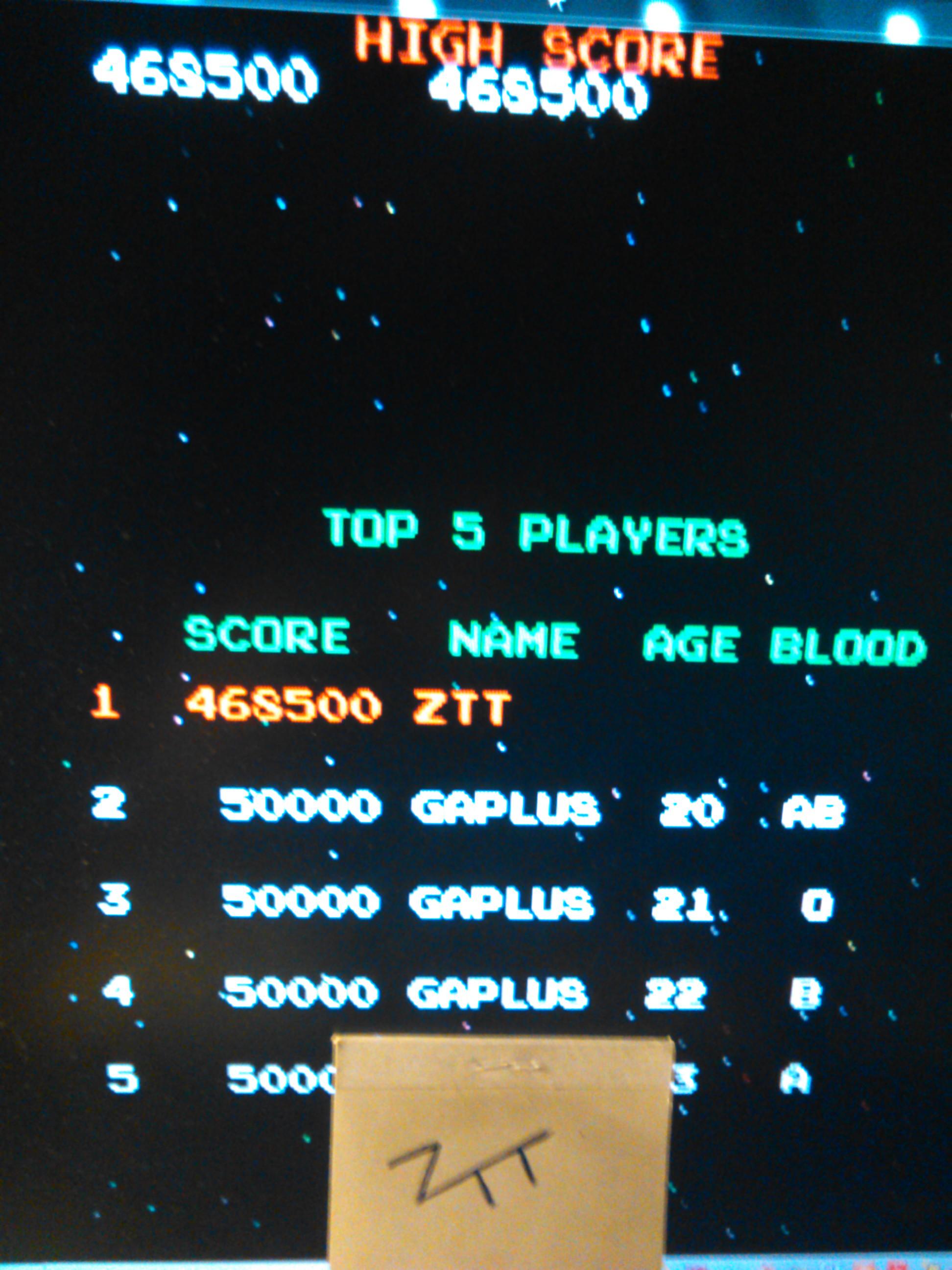 Gaplus 468,500 points