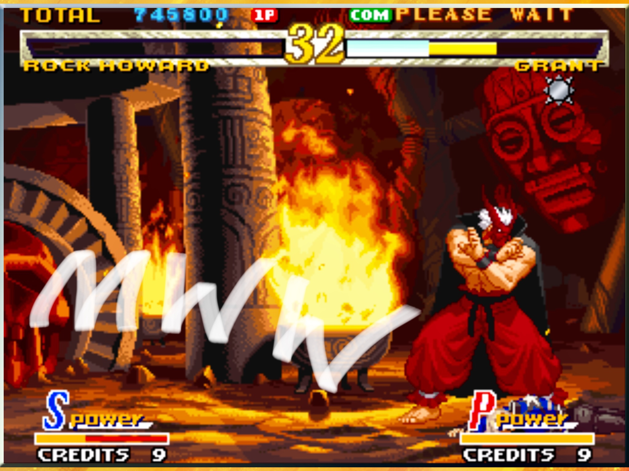 Garou Mark of the Wolves 745,800 points