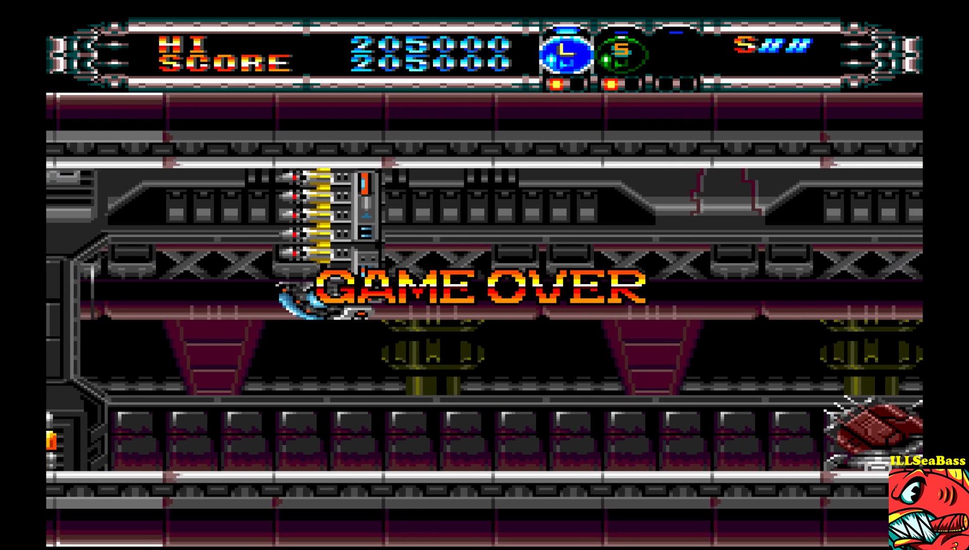 ILLSeaBass: Gate of Thunder (TurboGrafx-16/PC Engine Emulated) 205,000 points on 2017-02-01 22:05:53