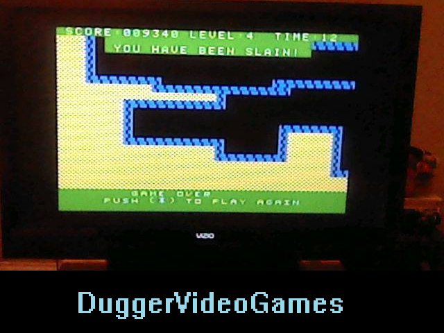 DuggerVideoGames: Gateway to Apshai (Colecovision Flashback) 9,340 points on 2016-03-27 01:39:10