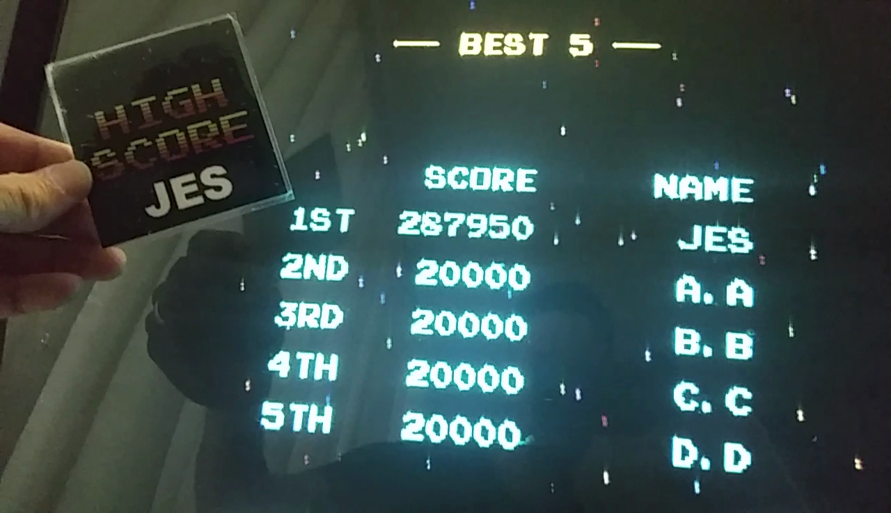JES: Gatsbee [gatsbee] (Arcade Emulated / M.A.M.E.) 287,950 points on 2017-05-16 20:51:31