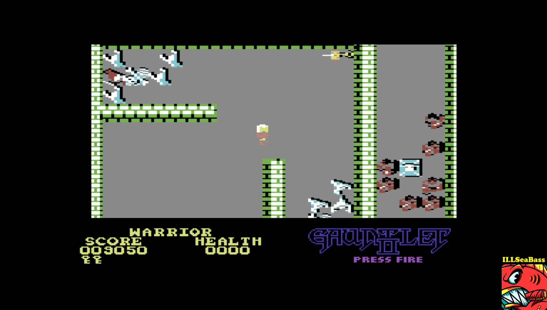 ILLSeaBass: Gauntlet II (Commodore 64 Emulated) 9,050 points on 2017-06-12 22:09:09