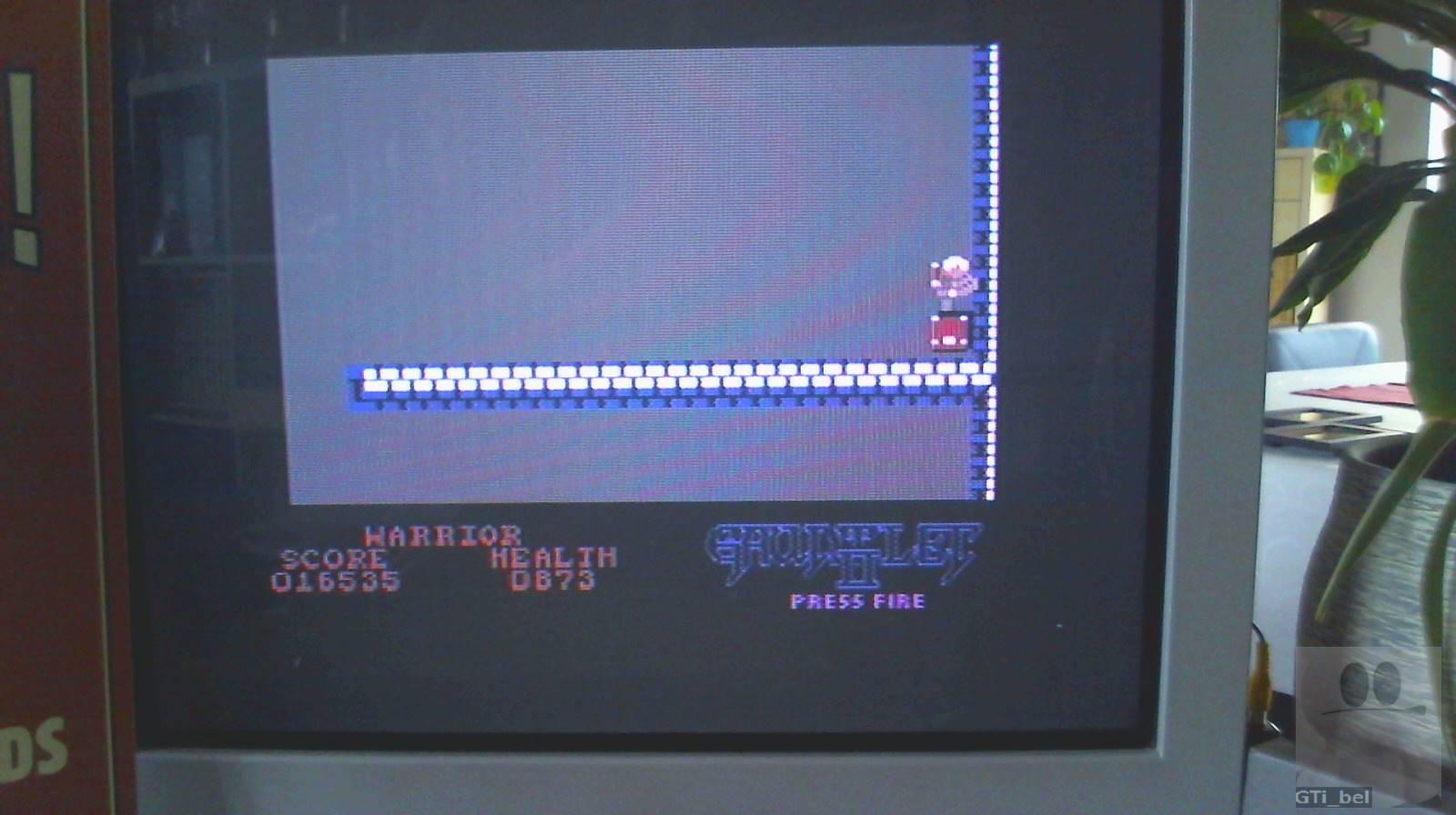 GTibel: Gauntlet II (Commodore 64) 16,535 points on 2019-02-09 03:26:56