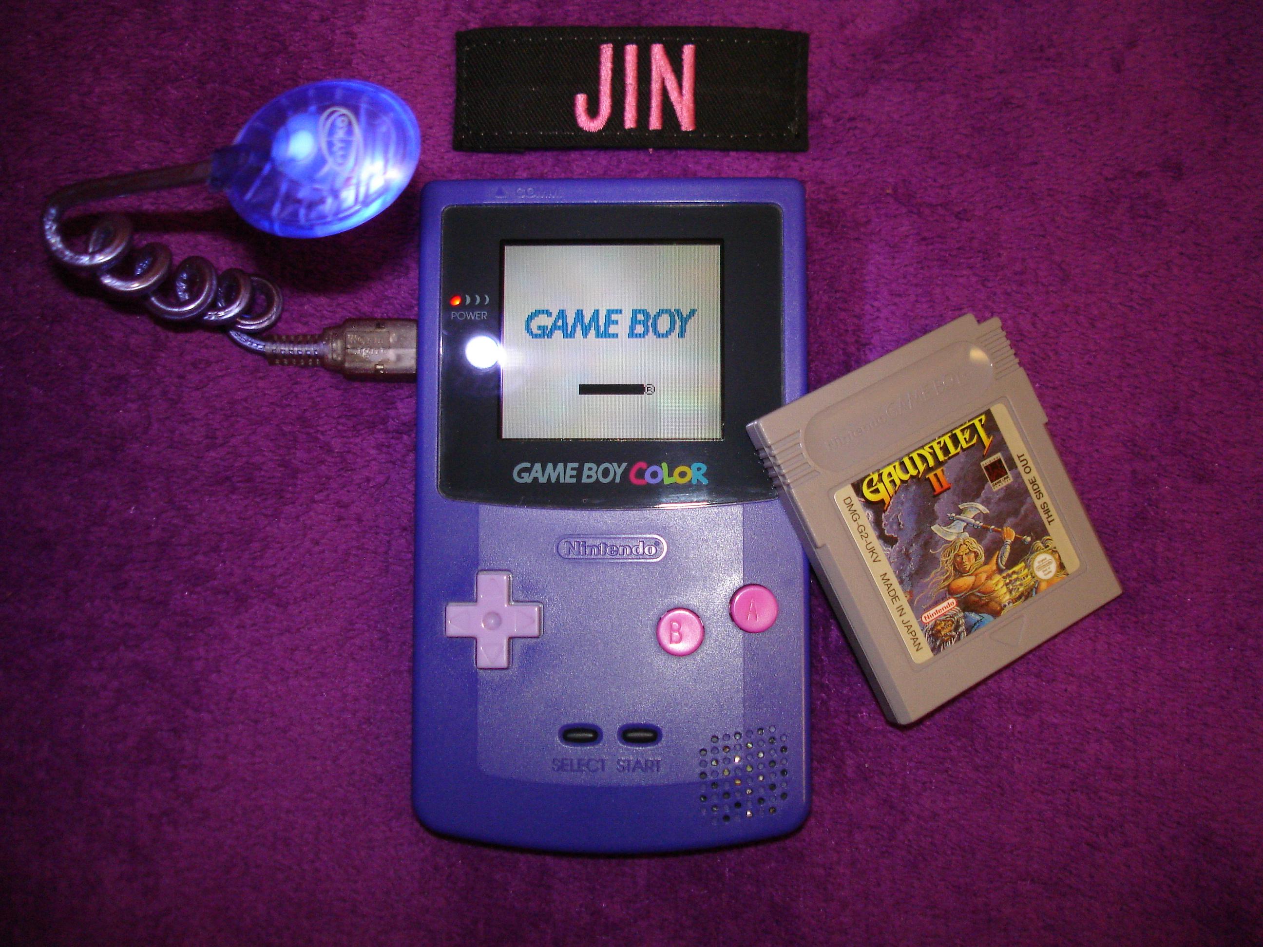 Jin: Gauntlet II (Game Boy) 2,334 points on 2017-01-02 09:37:45