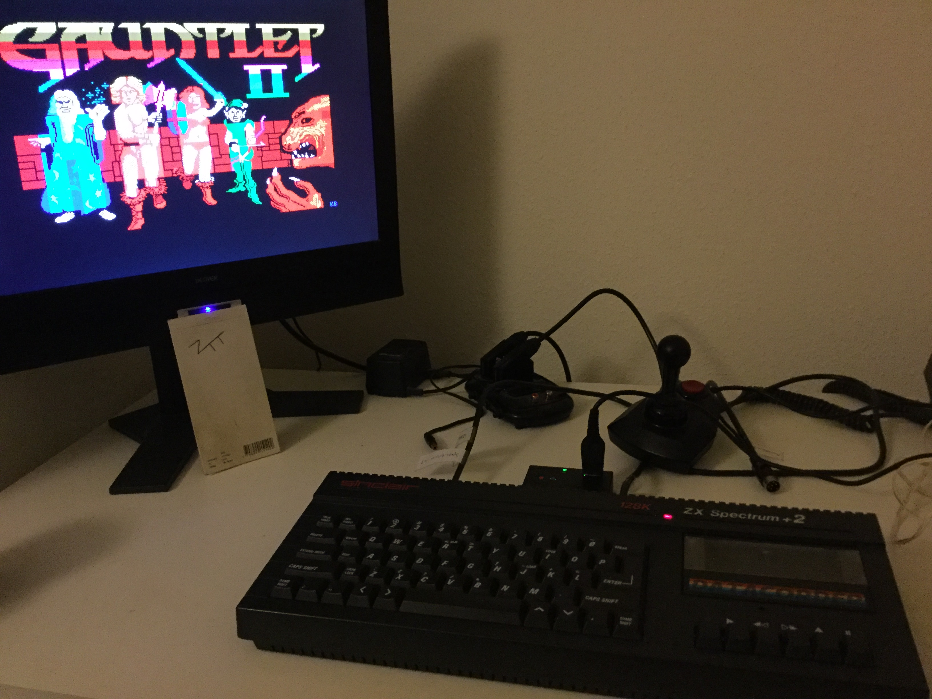 Frankie: Gauntlet II (ZX Spectrum) 22,576 points on 2020-01-26 04:26:06