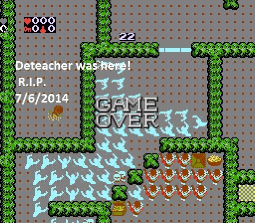 Deteacher: Gauntlet (NES/Famicom Emulated) 293 points on 2015-07-06 14:54:53