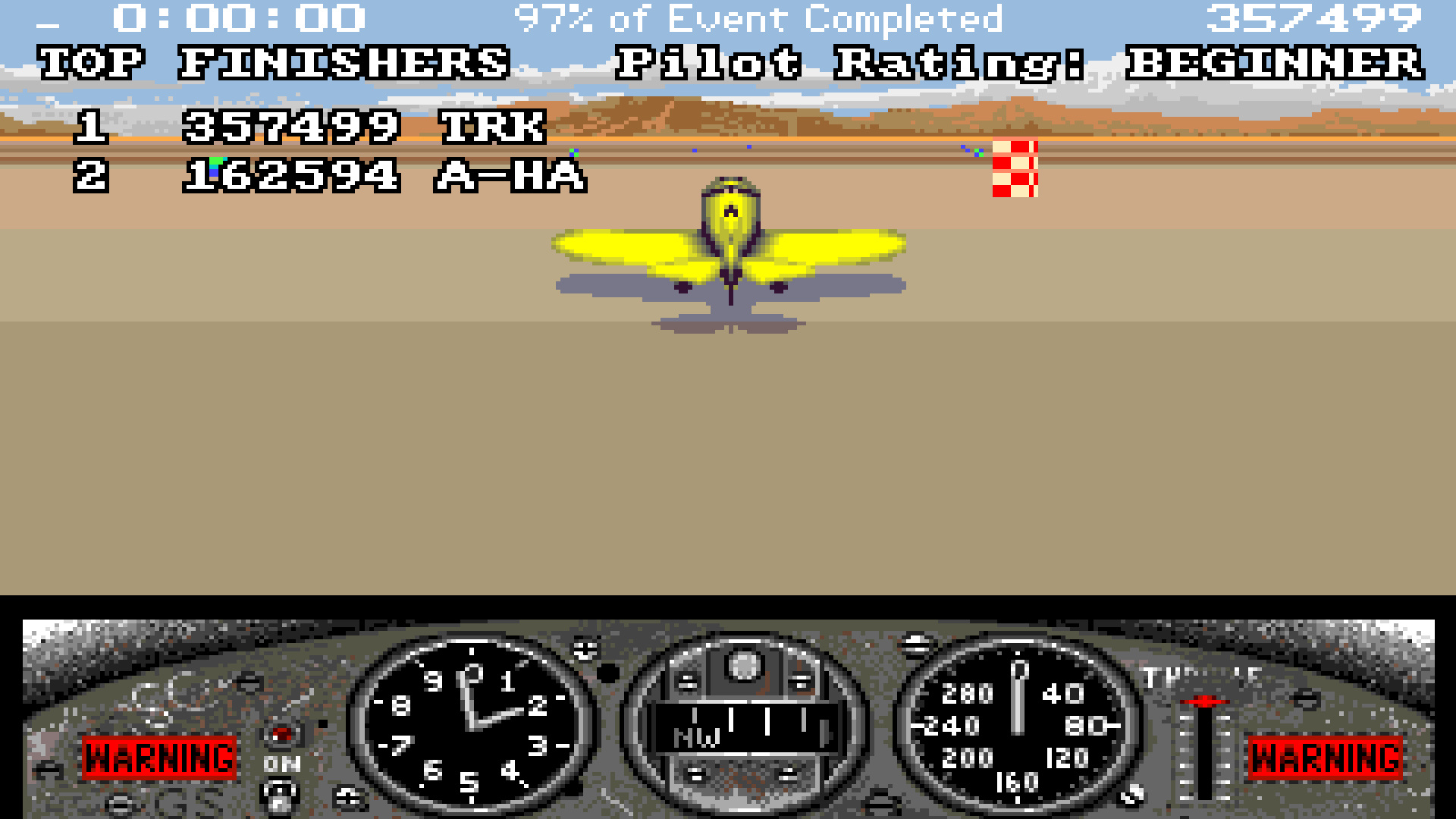 TheTrickster: Gee Bee Air Rally [Beginner] (Amiga Emulated) 357,499 points on 2015-10-05 04:56:29