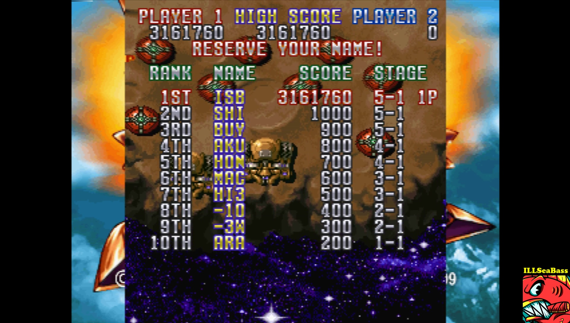 ILLSeaBass: Gekioh: Shooting King [Easy Mode] (Playstation 1 Emulated) 3,161,760 points on 2017-02-12 20:56:31