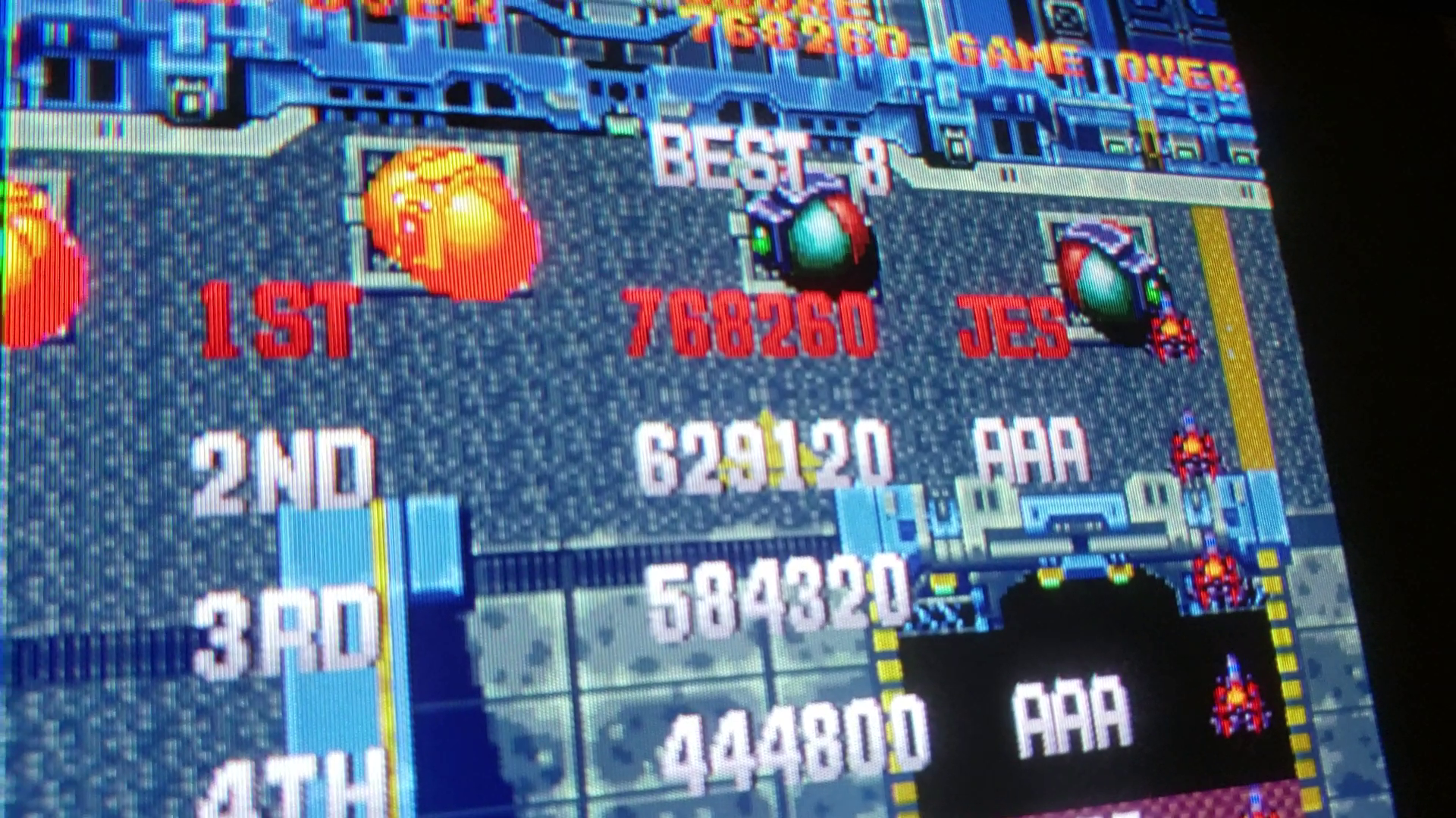 JES: Gekirindan [gekiridn] (Arcade Emulated / M.A.M.E.) 768,260 points on 2019-06-22 02:38:50