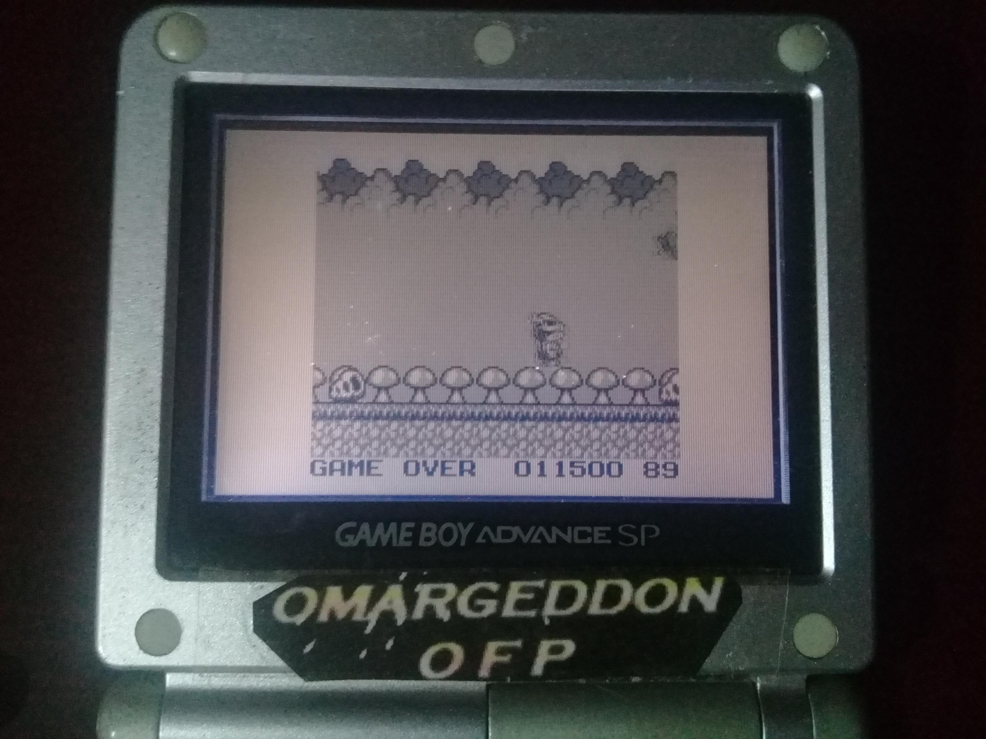 omargeddon: Genjin Cottu (Game Boy) 11,500 points on 2019-04-16 21:36:45