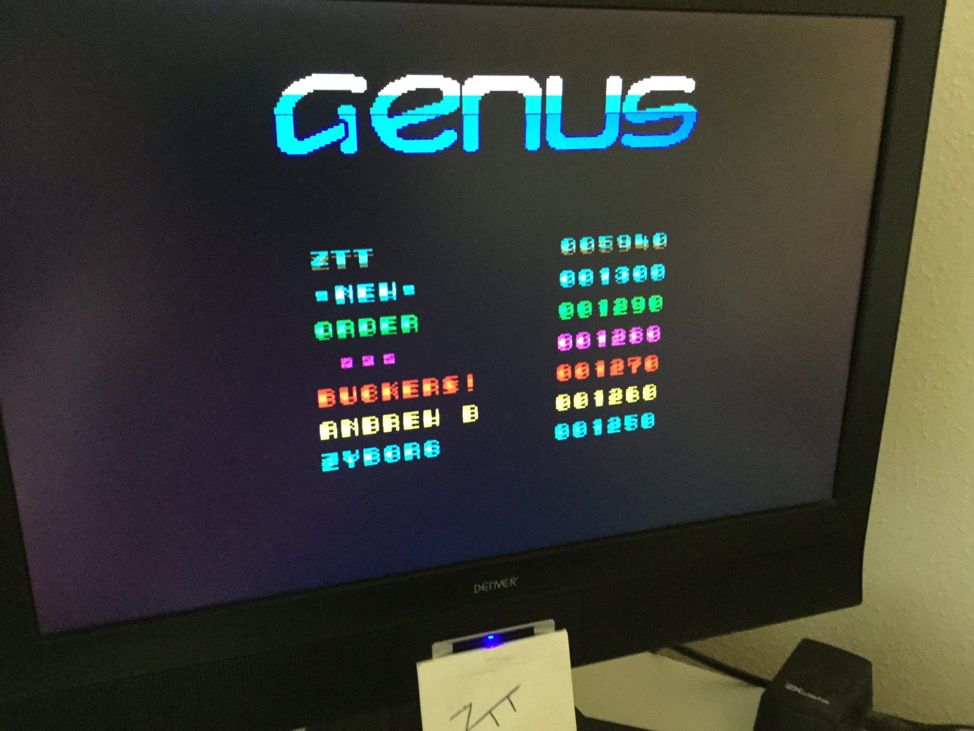 Frankie: Genus [Andrew Daly] (ZX Spectrum) 5,940 points on 2020-01-31 03:18:19
