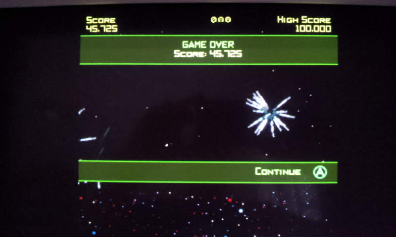 Larquey: Geometry Wars Galaxies: Retro Evolved (Nintendo DS Emulated) 45,725 points on 2018-08-15 11:54:02