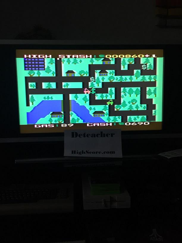 Deteacher: Getaway! (Atari 400/800/XL/XE) 860 points on 2016-04-24 16:55:31
