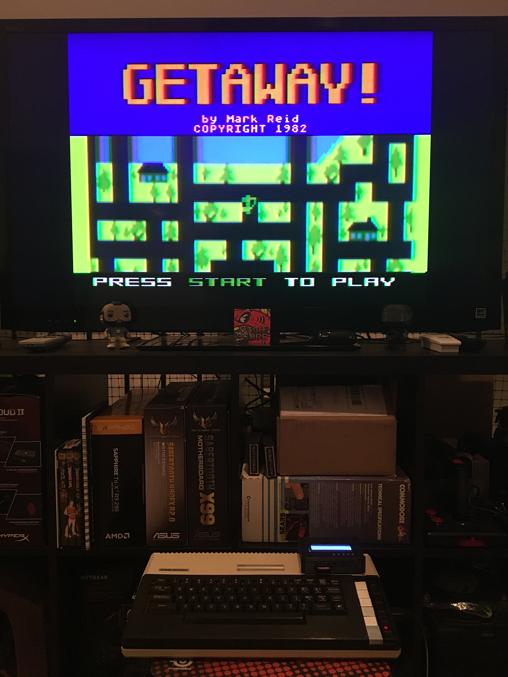 ILLSeaBass: Getaway! (Atari 400/800/XL/XE) 5,600 points on 2017-05-06 22:50:32