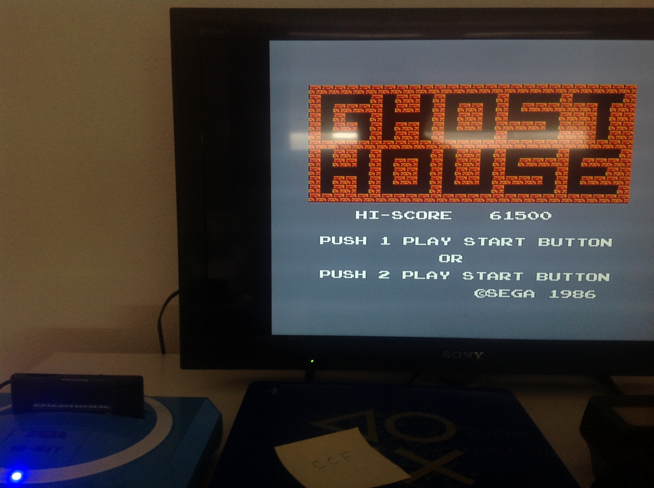 CoCoForest: Ghost House (Sega Master System) 61,500 points on 2018-07-22 03:22:12