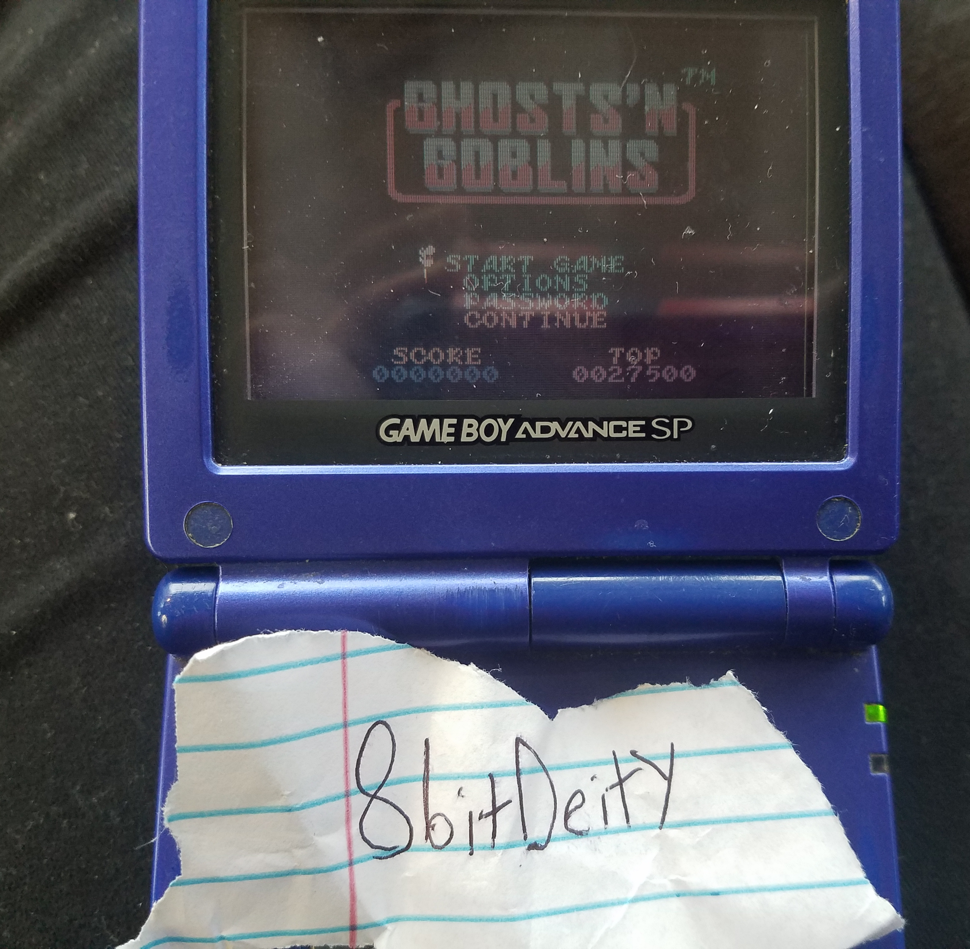 8bitDeity: Ghost N Goblins (Game Boy) 27,500 points on 2018-11-09 14:13:50