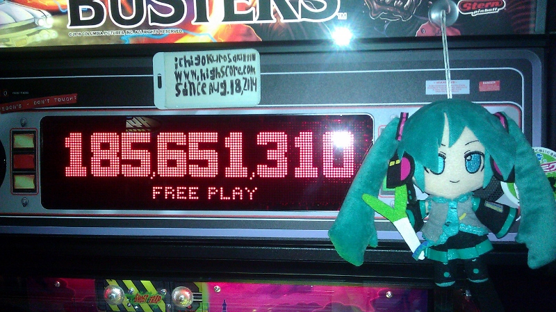 ichigokurosaki1991: Ghostbusters (Pinball: 3 Balls) 185,651,310 points on 2016-05-23 22:59:13