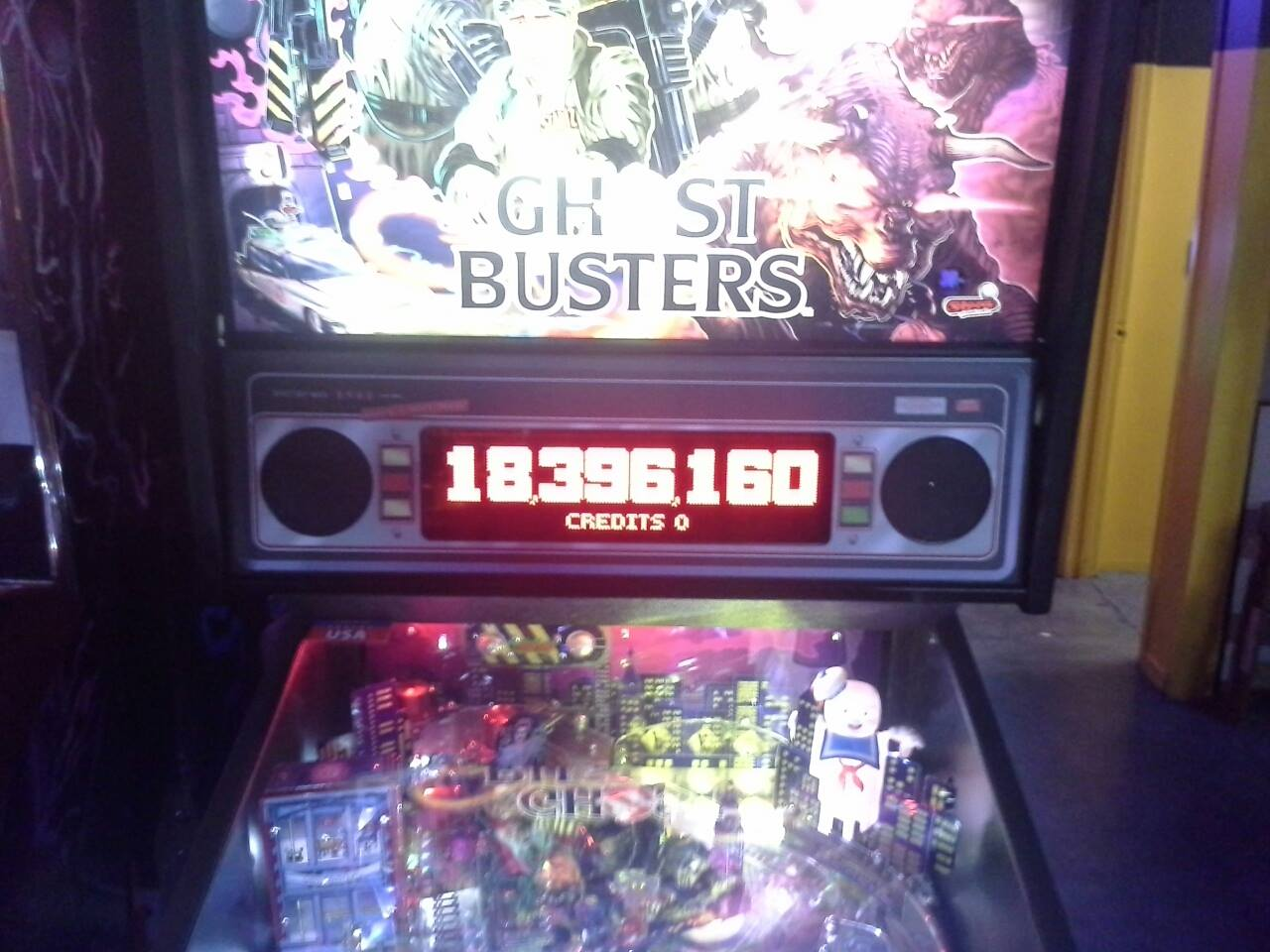 Ghostbusters 18,396,160 points