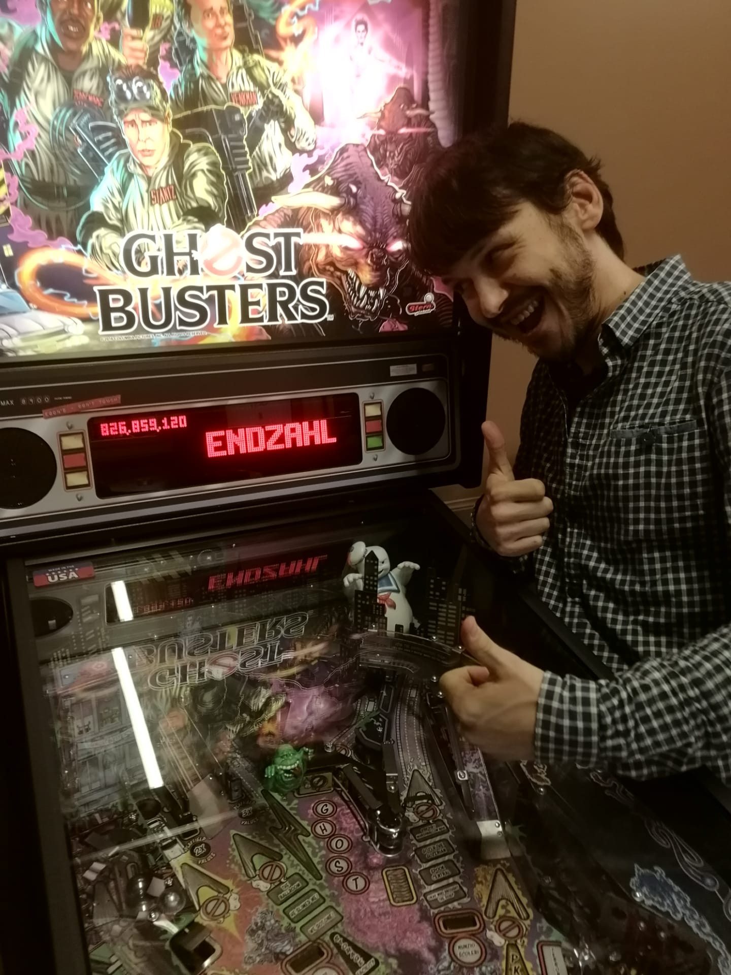 floese: Ghostbusters (Pinball: 3 Balls) 826,859,120 points on 2019-09-09 10:07:46