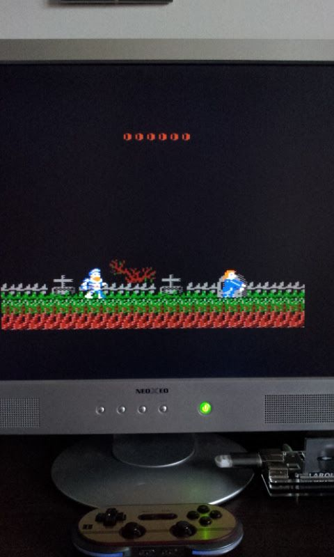 Larquey: Ghosts N Goblins (Amstrad CPC Emulated) 21,400 points on 2017-02-16 05:38:59