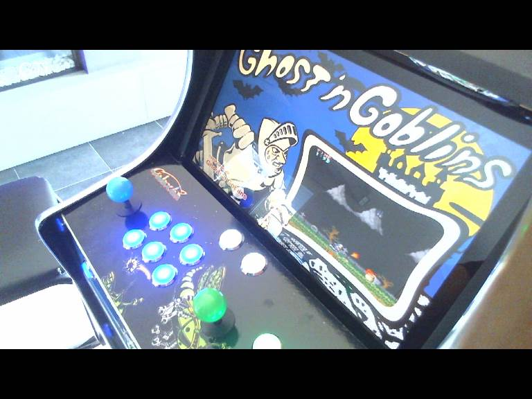 GTibel: Ghosts N Goblins (Arcade Emulated / M.A.M.E.) 42,100 points on 2016-11-03 11:19:11